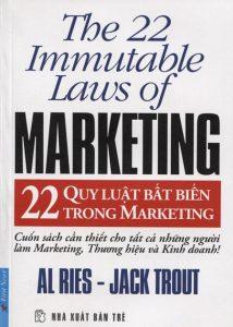 Quy luật marketing, sách marketing hay cho người mới bắt đầu