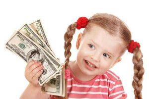 dạy con ứng xử vói đồng tiền