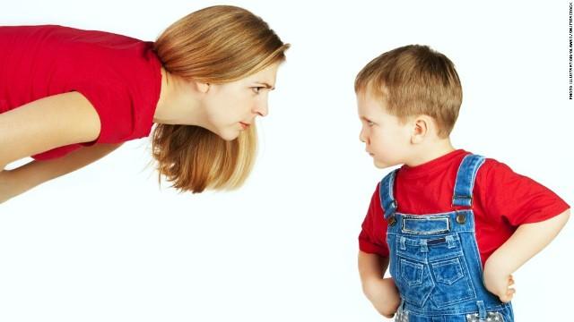dạy trẻ bướng bỉnh