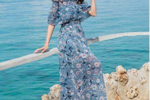 váy maxi đẹp đi biển