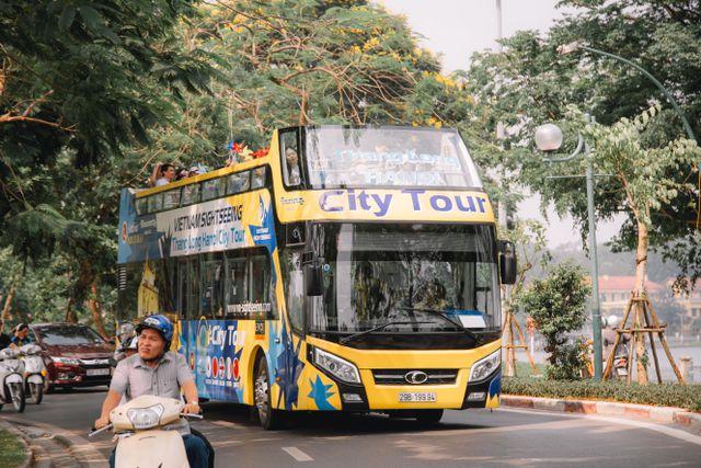 Hạ Long sẽ có xe bus 2 tầng phục vụ khách du lịch