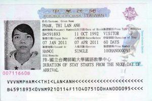 Trường hợp nào miễn visa du lịch Đài Loan