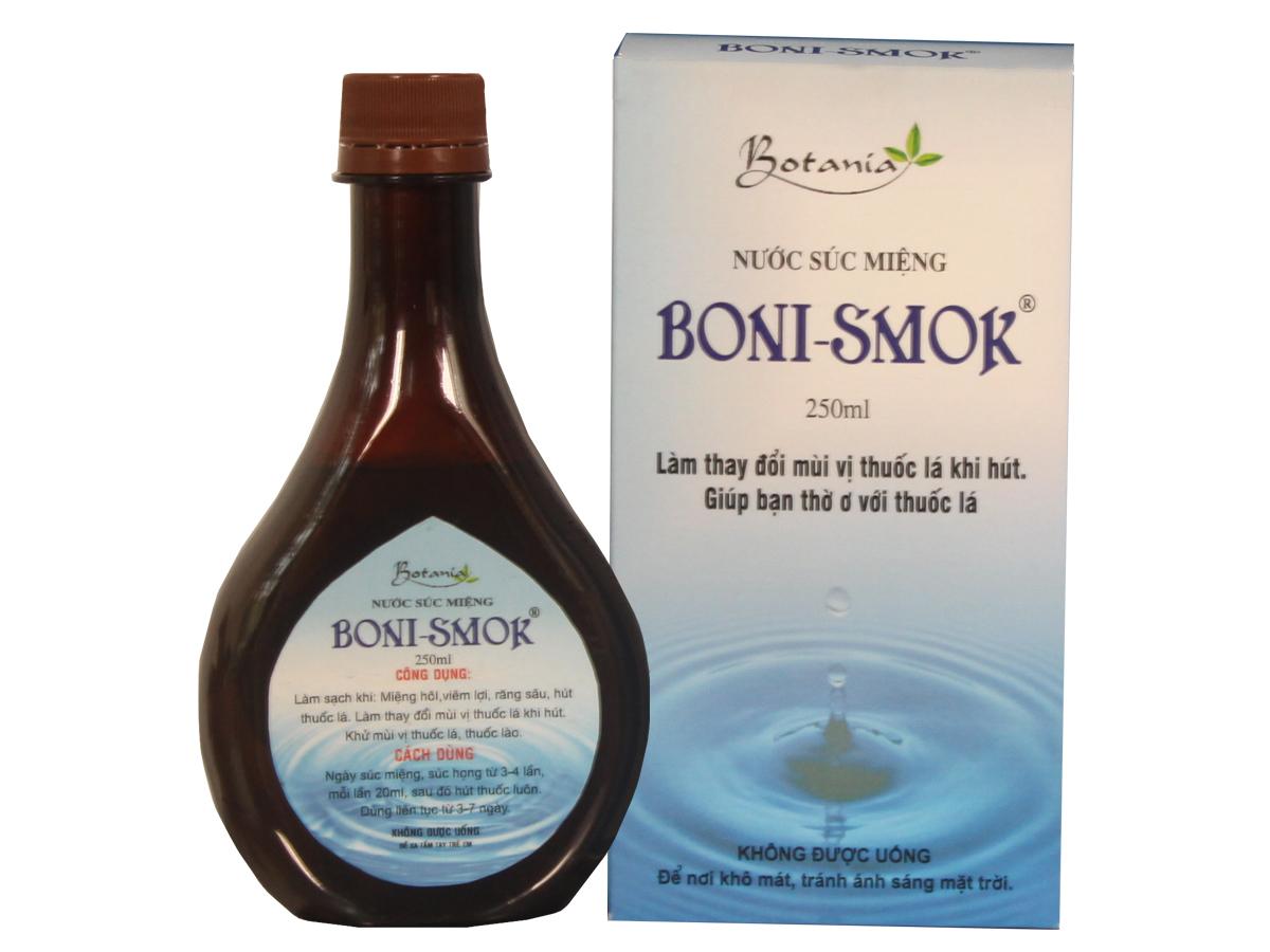 Boni-smok sản phẩm giúp bạn sớm bỏ thuốc lá