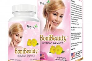 BoniBeauty - Sản phẩm hỗ trợ tăng cường nội tiết tố nữ