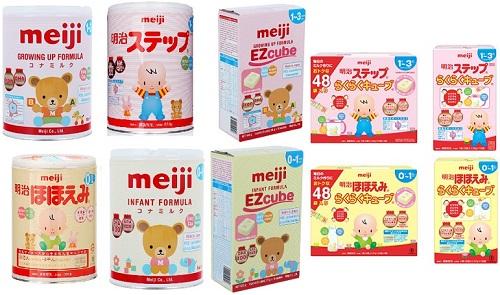 sữa meiji sữa ngoại ưa chuộng nhất
