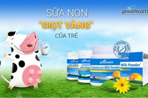 Sữa non Good Health 100% Colostrum form NewZealand