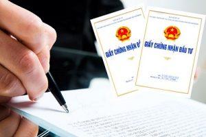 Hồ sơ xin giấy phép đầu tư
