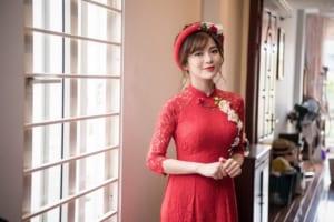 địa chỉ may áo dài đẹp tại Hà Nội