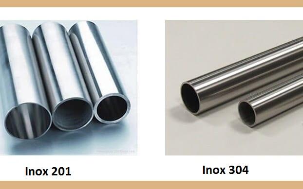 so sánh inox 201 và 304